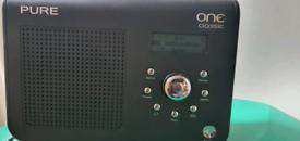 Pure dab fm radio