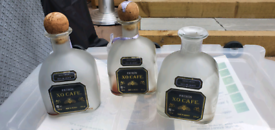 Empty bottles perfect for upcycling