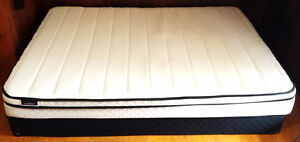 Double size foam mattress and box springs (250 or BO)