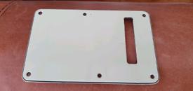 Fender Stratocaster back plate