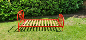 Single bed frame (Red)