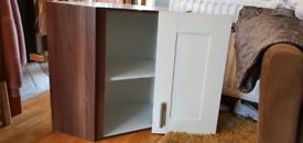 Kitchen cupboard (corner cupboard)