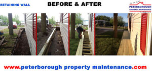 RETAINING WALL INSTALLATION SERVICE Peterborough Peterborough Area image 3