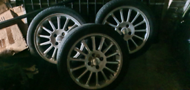 Ford Mondeo st200 wheels