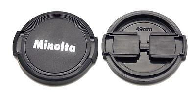 NEW Minolta 49mm Front Lens Cap  Minolta MD Rokkor SRT SR XD Free US Shipping