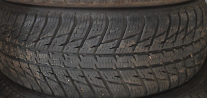 2 TIRES - 225/65/17 - 90% Nokian WRG3SUV WINTER