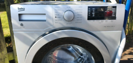Silver Beko washing machine _ free delivery