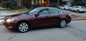 Honda Accord ex-leather 2009 heated alloy sunroof & winter tires