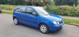 2004 Volkswagen Polo 1.2 S 5 door 5dr Blue LOW MILEAGE VW Petrol