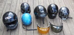 used motorcycle , rv helmets