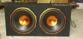 Edge Dual Active Subwoofer & Amplifier.