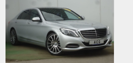Mercedes Benz S class chauffeur driven in style