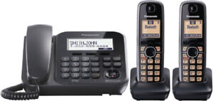Panasonic KX-TG4771C Corded/Cordless Phone with Answering System