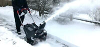 SNOW REMOVAL - BOOKING NOW