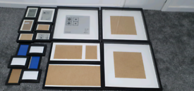 14x photo frame from IKEA. Used and new various sizes