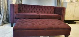 Next -three piece sofa set.