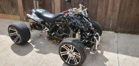 250cc spy f1 quad bike road legal for sale  Derby, Derbyshire