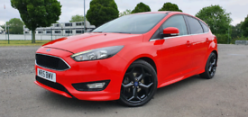 image for Ford Focus Zetec S Tdci 2015 Hpi clear with FFSH 2 KEYS