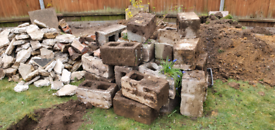 FREE Heavy Duty Concrete Breeze Blocks (20) perfect for landscaping