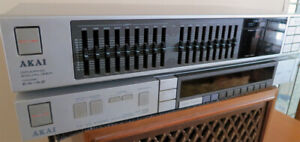 Akai EA-A2 Stereo Graphic Equalizer, AKAI AT-S3 Tuner