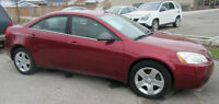 2009 Pontiac G6 Sedan - SALE PRICE $ 5999.