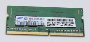 SAMSUNG 4GB RAM DDR4 PC4-2133P laptop