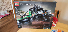 Lego technic 4x4 mercedes-benz truck
