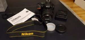 Nikon D5600 DSLR - USED ONCE - Brand new condition