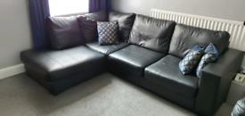 Corner Leather Sofa