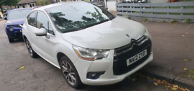 2012 Citroem Ds4 Dstyle 1.5 Hdi Pearl white