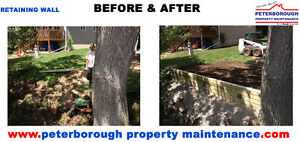 RETAINING WALL INSTALLATION SERVICE Peterborough Peterborough Area image 2
