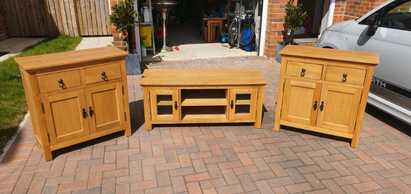 wooden living room furniture  in seaton delaval tyne and