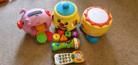 Various Fisher price vtech learning toys