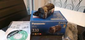 Panasonic T55 twin memory SD video camcorder