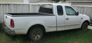 1997 Ford F150 Club Cab 2WD White