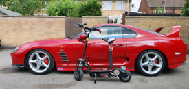 Electric scooter for adults