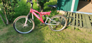 Ladies mountain bike front and back suspension 18 speed front and back