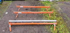 Volkwagon T4 van roller roof rack builders roof bar