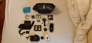 Nikon D300 w Speedlight, quantum battery, lense, etc.