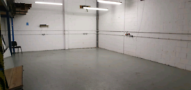 Shared 1250 sq ft warehouse