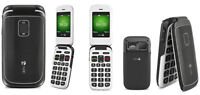 NEW IN BOX DORO EASY FLIP PHONE *ROGERS AND CHATR*