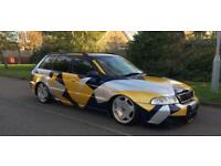 Audi A4 Avant 1.9TDI 115 Replica rs4 air ride stance