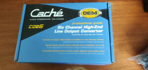 Cache coe6 line out converter
