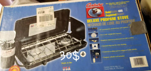 Grill Camping au bouteille propane