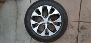 18 inch KIA SOUL rims with tires