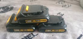 DeWalt battery