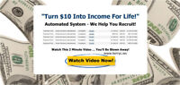 ONly $10 a month - Create an second income online!