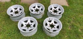 6 stud alloy wheels 15 inch 139.7