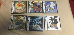 Assorted Pokemon Games for DS