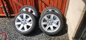 "BMW 17"" alloy wheels e46"